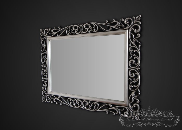 silverblack ornamental mirrors from Ornamental Mirrors