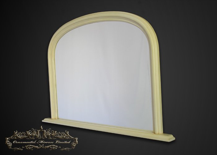 classic cream overmantel mirrors from Ornamental Mirrors