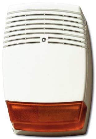 Outdoor siren with single amber beacon AS610  Alarm Sounders