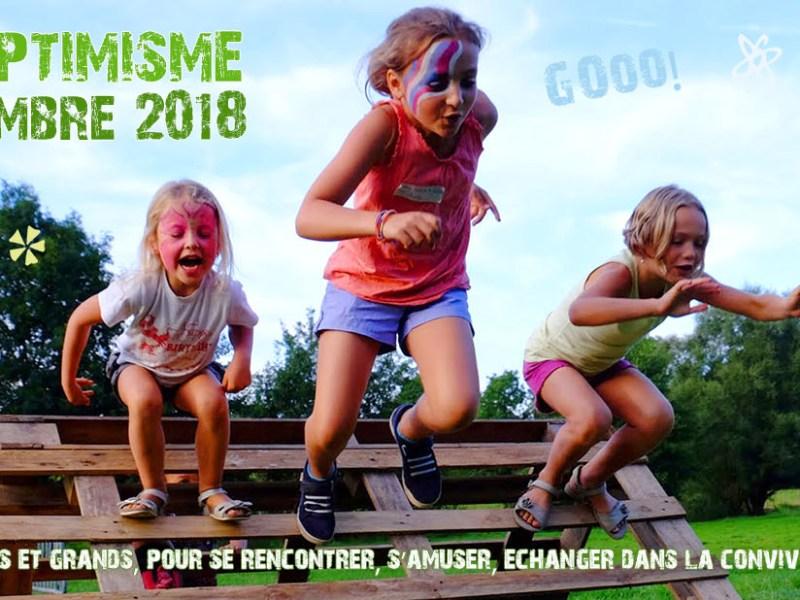 7-8 septembre: l'Orno sera présent à la fête de l'Optimisme