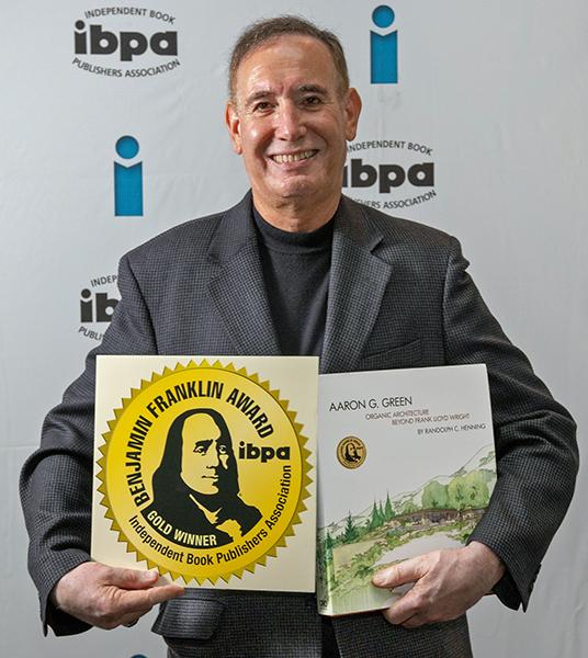Allan Wright Green Wins IBPA Award for Aaron G. Green, Beyond Frank Lloyd Wright