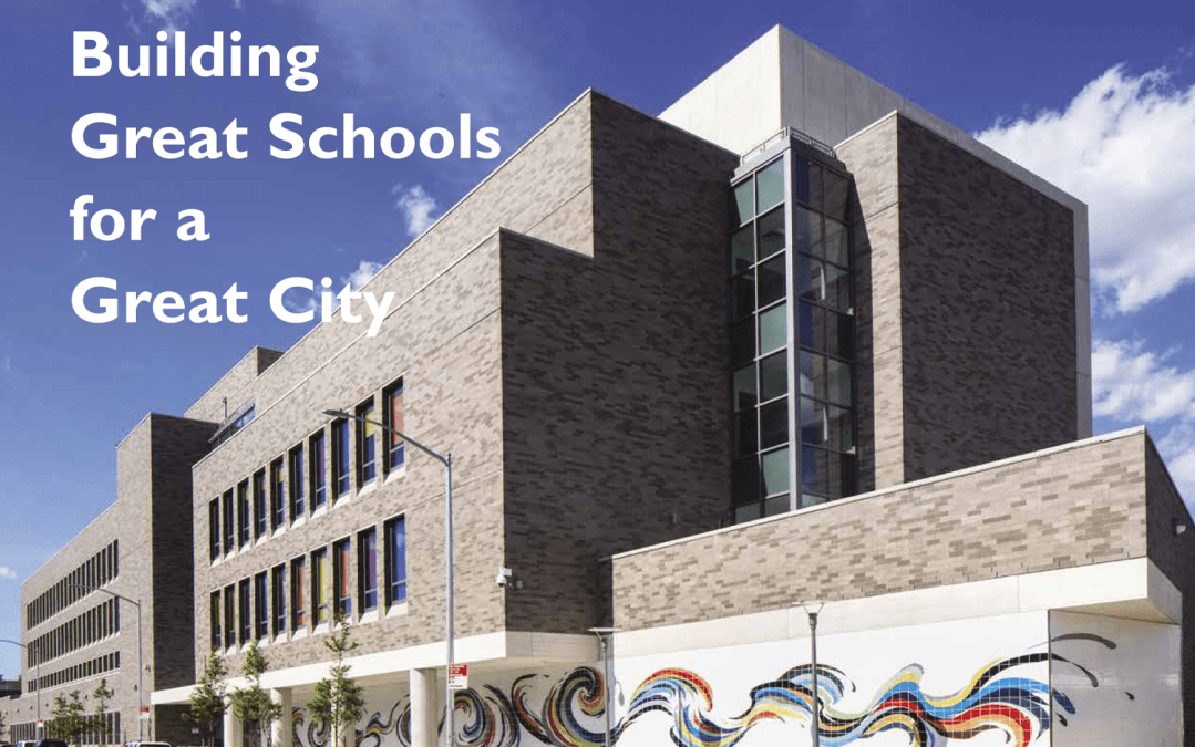 AIA NY Building Great Schools for a Great City Book Launch: Honoring Work by the SCA