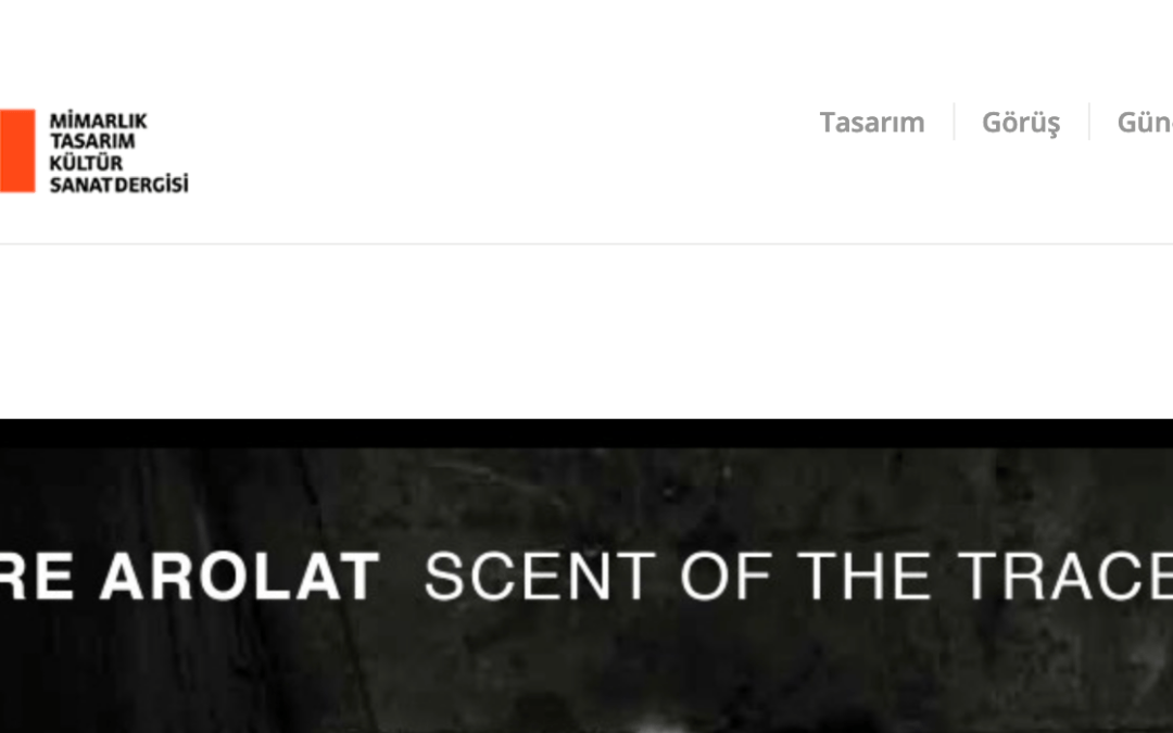 YAPI Magazine features Scent of the Trace