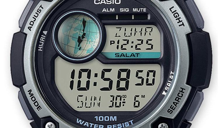 Orologio CPA-100-1AVEF, il nuovo modello sportivo del marchio Casio