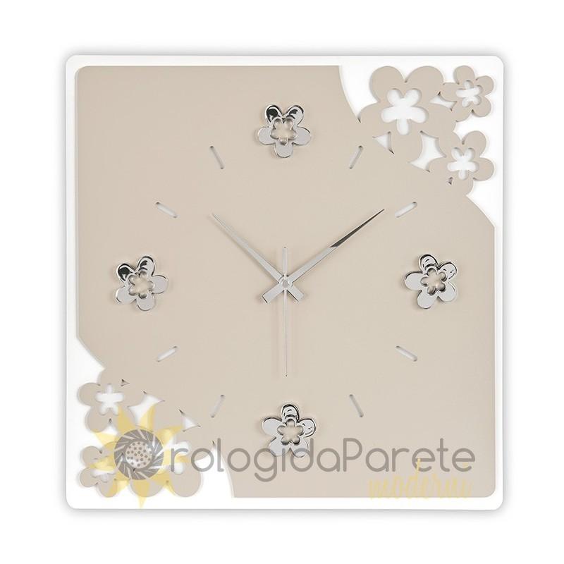 3d fai da te orologio da parete moderno acrilico numero arabo orologio da parete per casa salotto. Orologio Moderno Quadrato Da Parete Fiori Orologidaparetemoderni