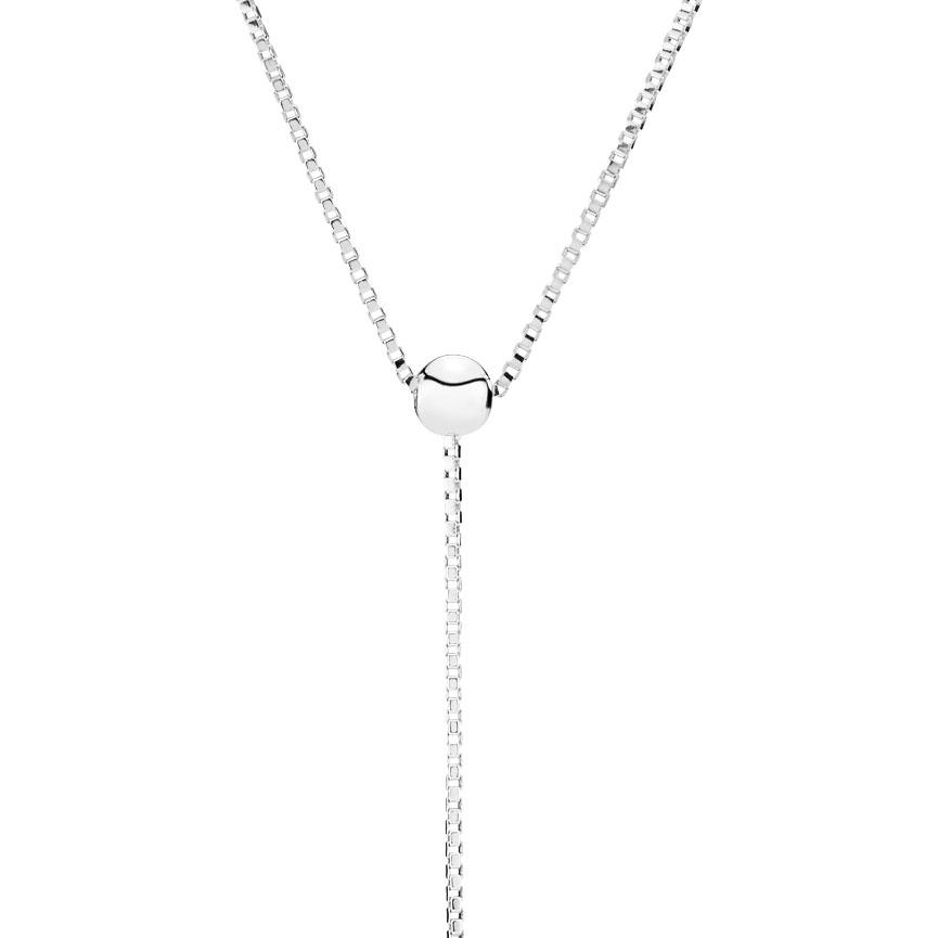 PANDORA Halskette Beaded silver Ynecklace 397750  Orotiamo Schmuck und Uhrmacherkunst