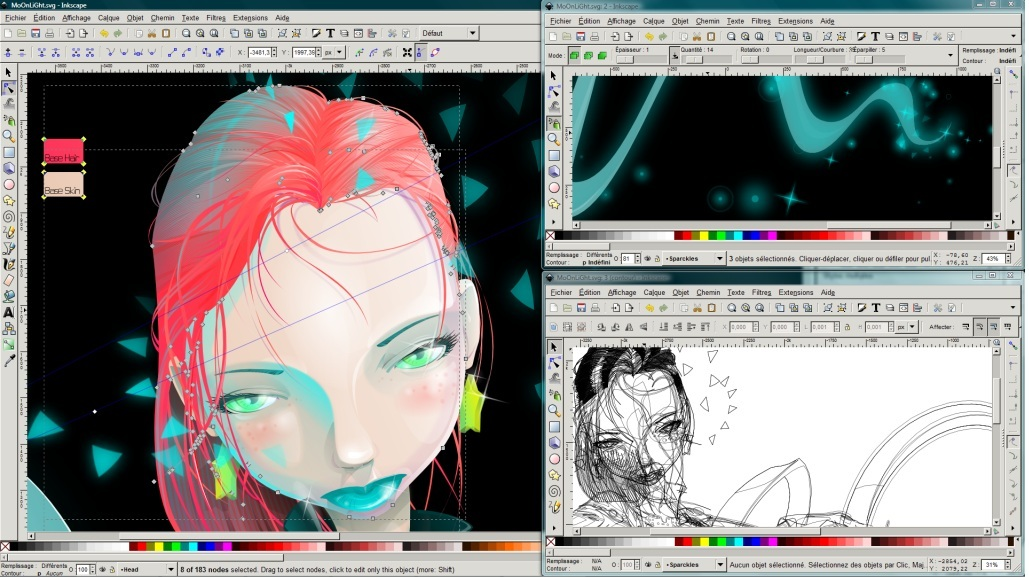 4 free graphic design programs for beginners Inkscape software