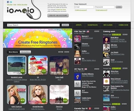 Iomoio-Legal MP3 Download