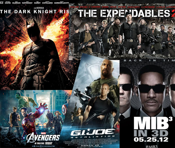 Top 10 Movies in 2012 and how to Save them