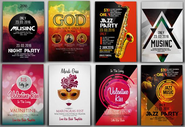 Stunning Party Flyers