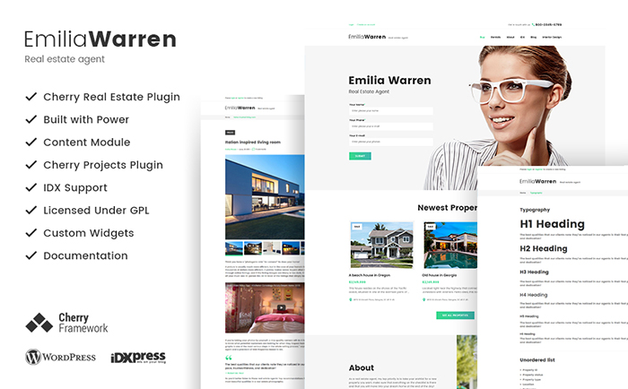arren - Real Estate WordPress Theme