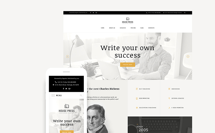 ng Company WordPress Theme