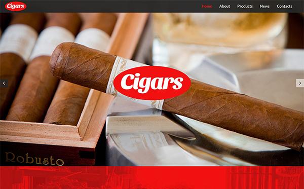 Tobacco WordPress Template