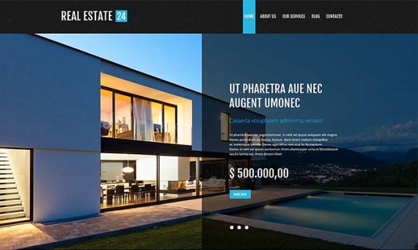 Realtor Company WordPress Theme