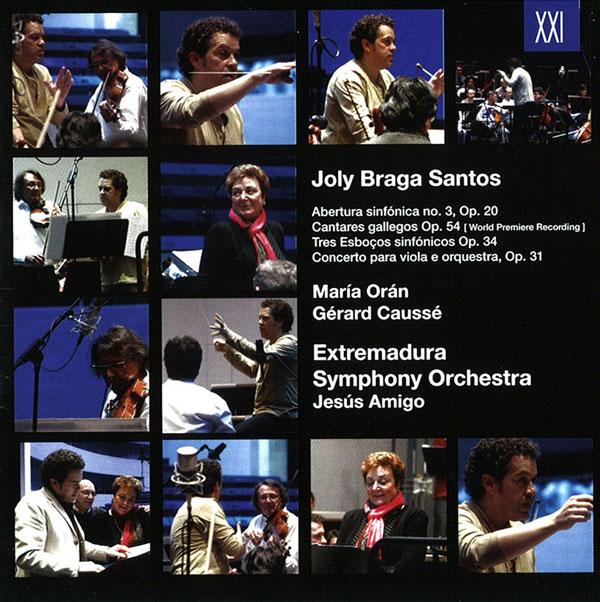 Joly Braga Santos Obras orquestales