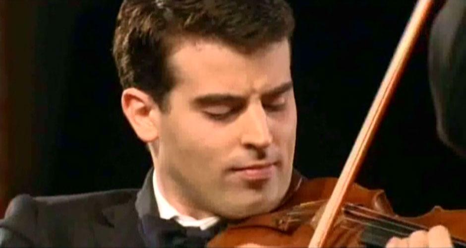 El violinista Amaury Coeytaux, solista invitado en el próximo concierto de la OEX