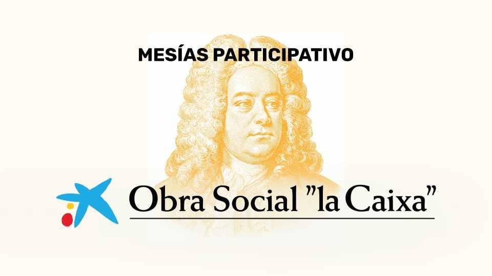 El Mesías participativo de la Obra Social 'la Caixa' llega a Cáceres