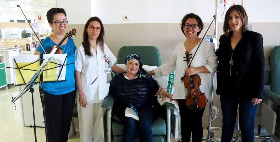 Ciclo de conciertos en hospitales como musicoterapia
