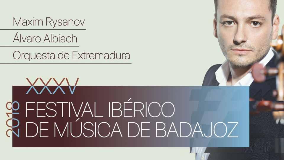 Maxim Rysanov y la OEX inauguran el XXXV Festival Ibérico de Música