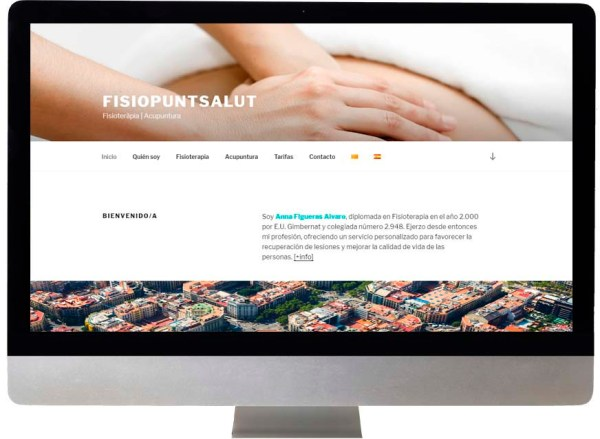 disseny web fisioterapia