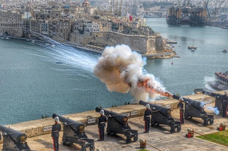 Malta-cannons