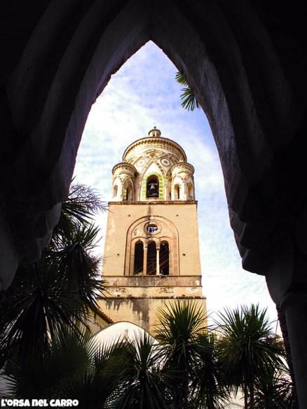 Duomo Amalfi dal Chiostro interno