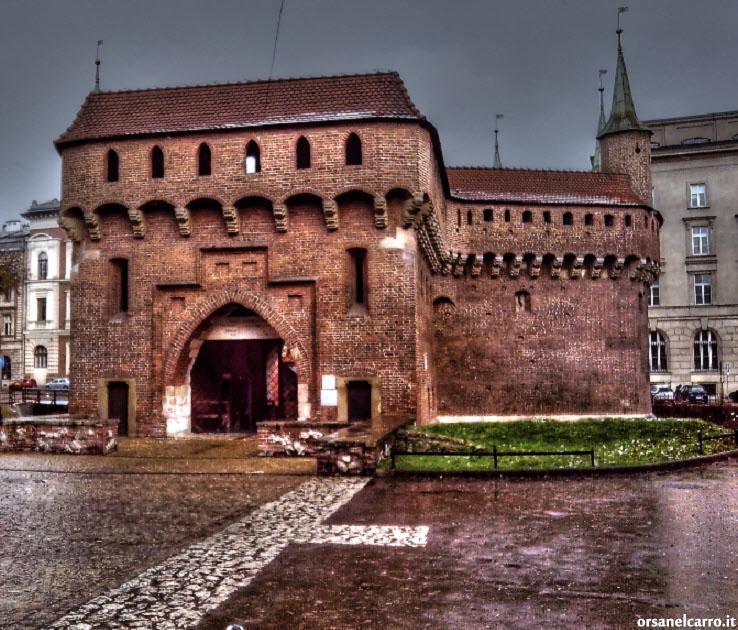 bastione Barbacane Cracovia