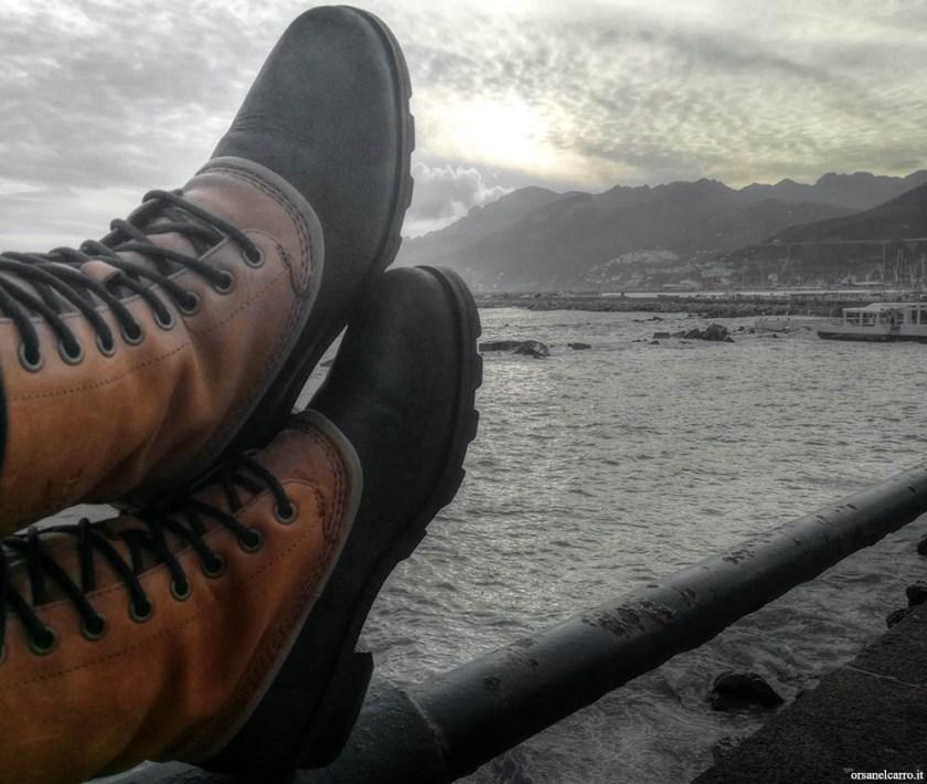 scarpe da viaggio