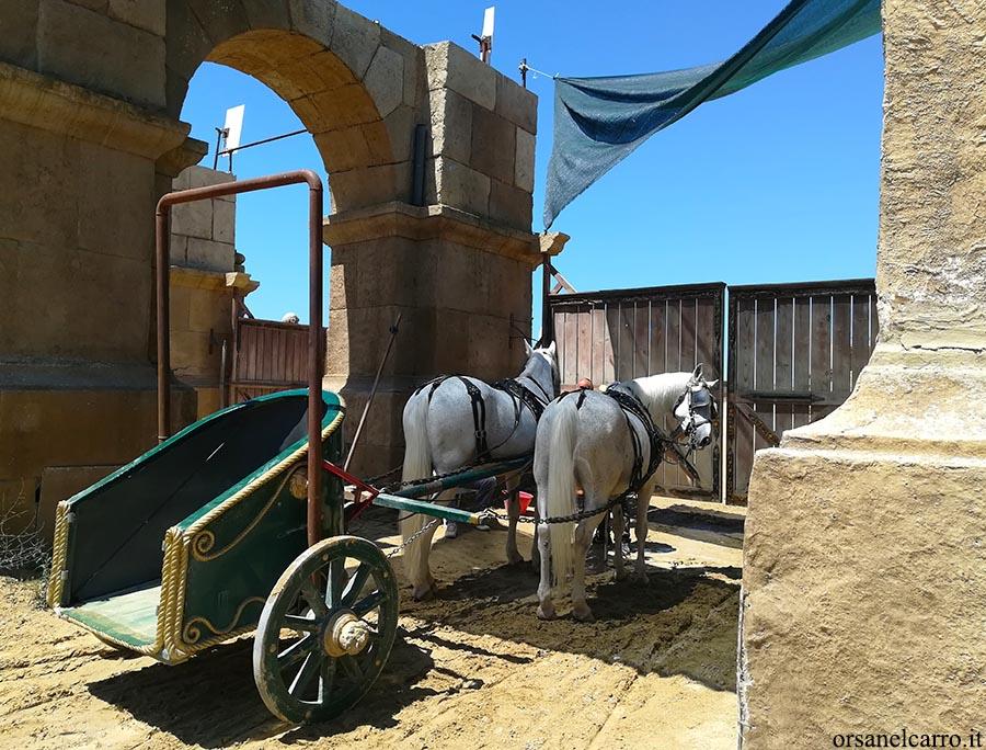 Cinecittà World giro in biga Ben Hur