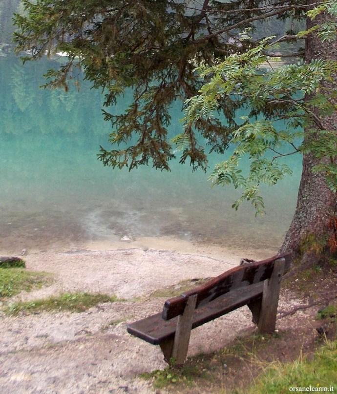vacanze estive lago di Braies