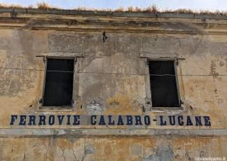 ferrovie abbandonate Calabro Lucane
