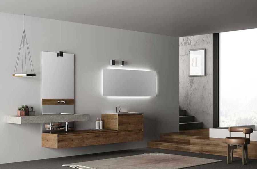 Mobili per il bagno Orsolini e Altamarea