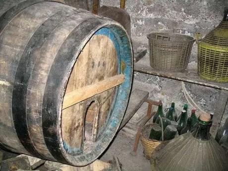 I catuie dove si conserva il vino