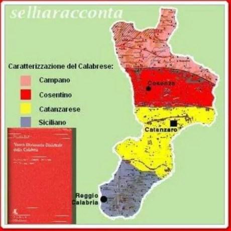 dialetto,divisione del territorio calabrese- selliaracconta