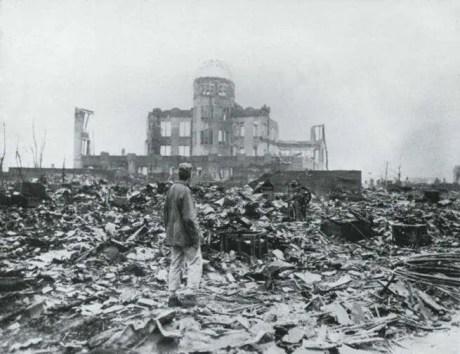 Hiroshima 1945, dopo lo scoppio della bomba