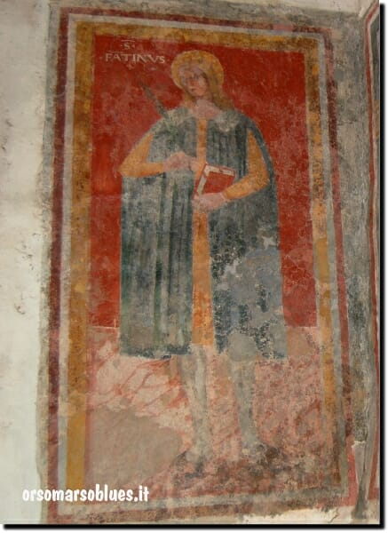 San Fantino, particolare della Chiesa di Santo Linardo - Orsomarso