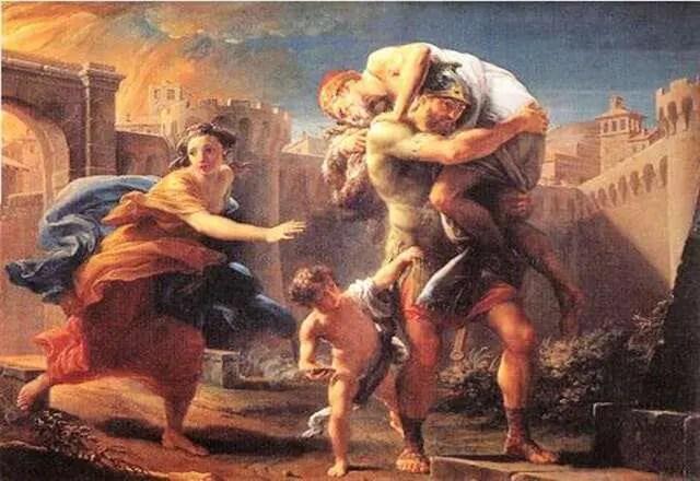 PROFUGHI – I primi a prendere il mare in fuga, secondo i miti più antichi, furono ragazzi troiani