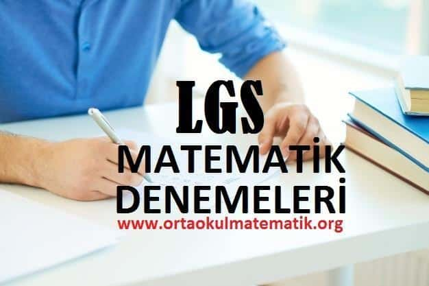 Photo of LGS Matematik Denemeleri