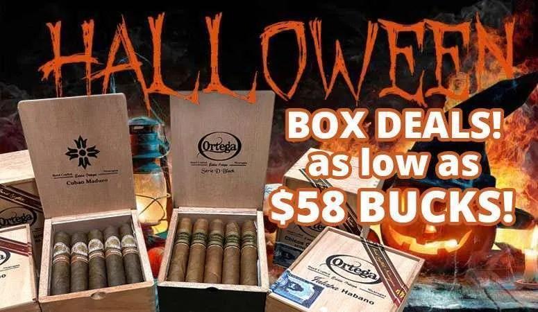 ortega halloween box deals