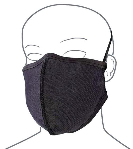 Rendering di esempio della G-Mask, la Mascherina in Grafene. Utile contro coronavirus COVID19. Uno dei prodotti disponibili sull'ecommerce di Orthocare Solution