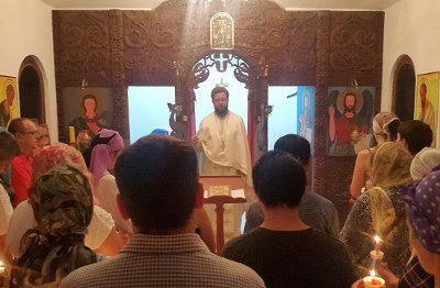 Празднование Пасхи Христовой в Пномпене, Королевстве Камбоджа (2015 г.)