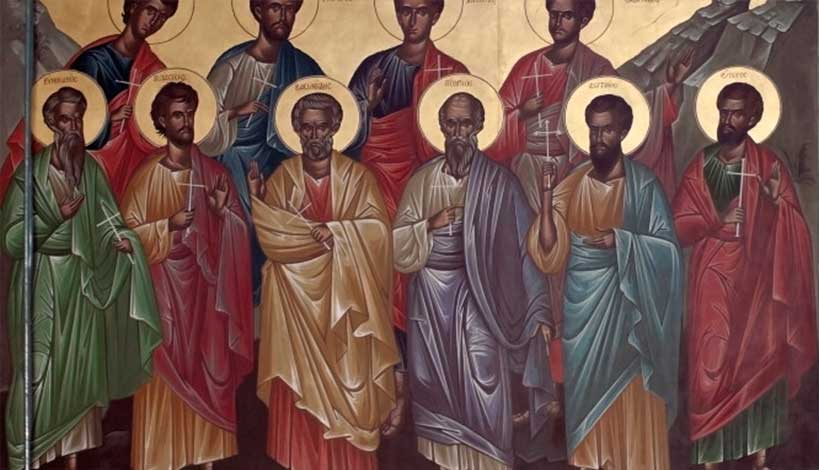 Ορθόδοξος Συναξαριστής 23 Δεκεμβρίου, Άγιοι Δέκα Μάρτυρες