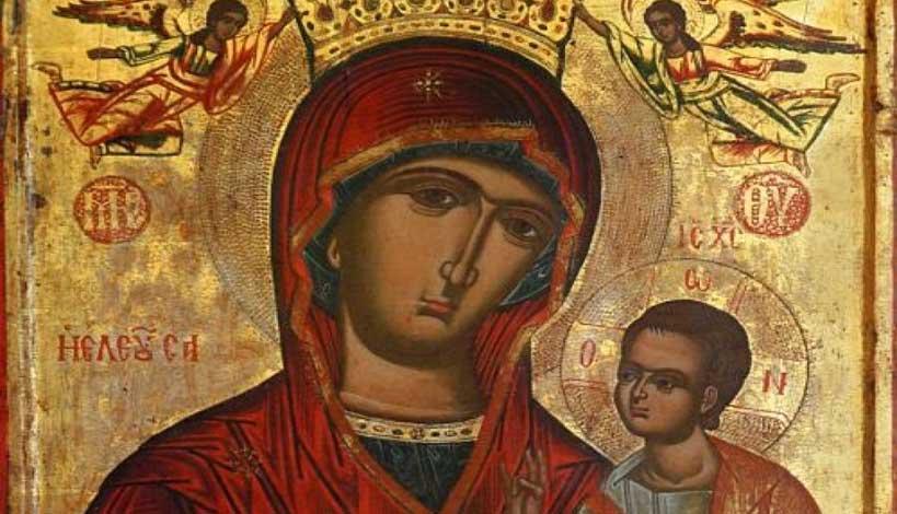 Η Παναγία γυρνάει το πρόσωπο της αλλού, δεν θέλει να με δει
