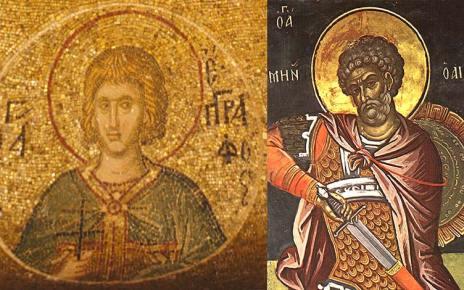 Ορθόδοξος Συναξαριστής 10 Δεκεμβρίου, Άγιοι Μηνάς ο Καλλικέλαδος, Ερμογένης και Εύγραφος