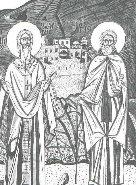 Ορθόδοξος Συναξαριστής 8 Ιανουαρίου, Όσιος Γεώργιος ο Χοζεβίτης