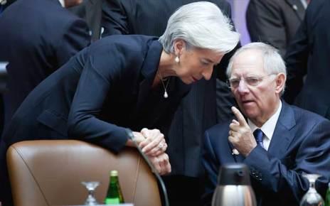 ΔΝΤ, Βόλφγκανγκ Σόιμπλε και Κριστίν Λαγκάρντ, μας δουλεύουν κανονικά