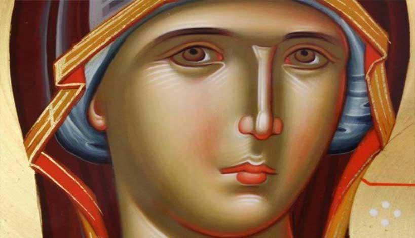 Γερόντισσα Μακρίνα: « Είναι πολύ ζωντανή η Παναγία μας»