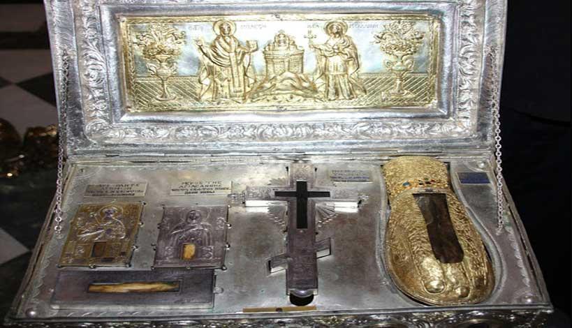 άφθαρτο χέρι της Αγίας Μαρίας της Μαγδαληνής