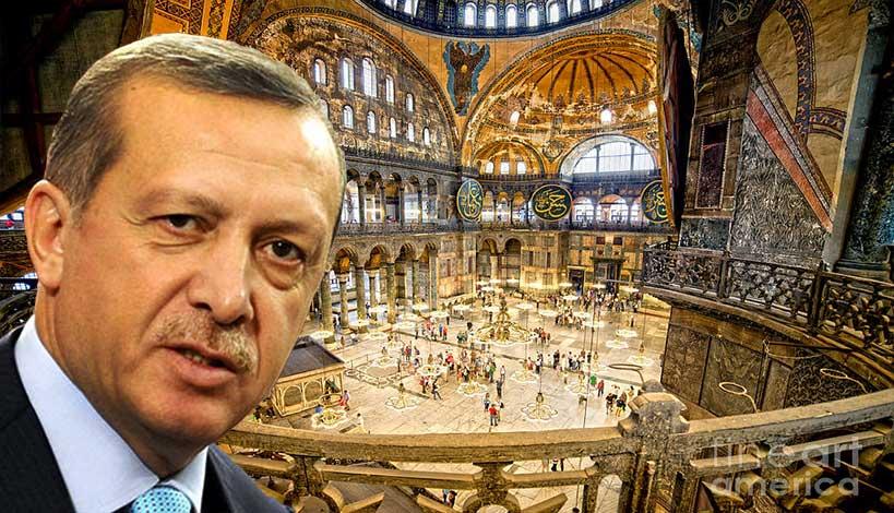 Για την προσευχή του Ερντογάν στην Αγία Σοφία την Μεγάλη Παρασκευή