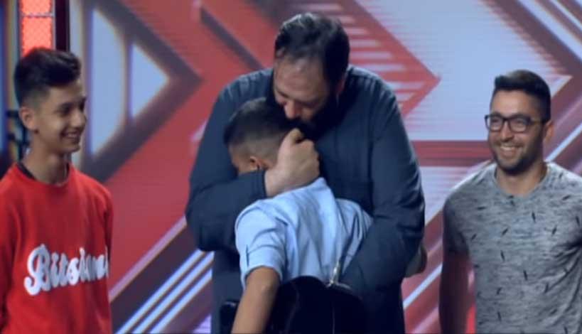 Αλέξανδρος Σαγκούρης - X-Factor 2  : Το 16χρονο τσιγγανόπουλο και τα δάκρυα του πνευματικού του (βίντεο)